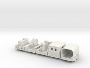 1/72 M 17 trailer set in White Natural Versatile Plastic