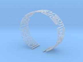 Maze Bracelet Size L in Smooth Fine Detail Plastic