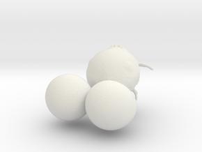 Face in White Natural Versatile Plastic