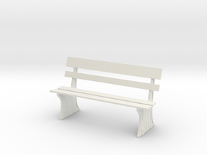 GWR BENCH G GAUGE in White Strong & Flexible