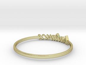 Astrology Ring Balance US7/EU54 in 18K Yellow Gold