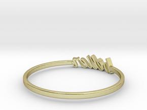 Astrology Ring Bélier US5/EU51 in 18K Yellow Gold