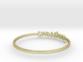 Astrology Ring Poissons US10/EU61 in 18K Yellow Gold