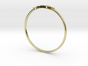 Astrology Ring Vierge US5/EU61 in 18K Yellow Gold