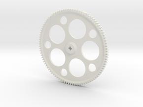 96Z spur in White Natural Versatile Plastic