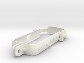 Insta360 OneX2Case with double clips ... in White Natural Versatile Plastic