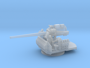 1/200 USN Single 5 inch (127 mm) 38 Mount in Smooth Fine Detail Plastic