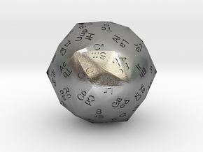 Periodic Die in Natural Silver