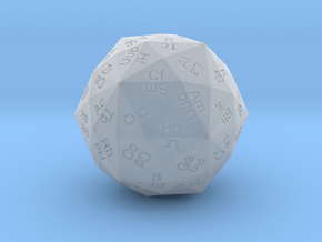 Periodic Die in Smooth Fine Detail Plastic