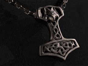 Torshammer - Mjölnir - Thors Hammer in Stainless Steel