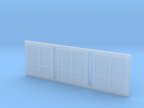 Freight Doors Illinois Terminal Station Part 5 in Smooth Fine Detail Plastic