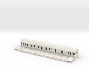 ABCo3 - Swedish passenger wagon in White Natural Versatile Plastic