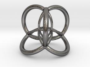 4d Hypersphere Bead - Multidimensional Scientific  in Polished Nickel Steel