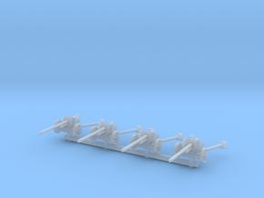 5 cm Pak 38 (x4) 1/160 in Smooth Fine Detail Plastic