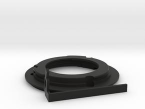 Union Mount with 35-105f3.5 Arm in Black Natural Versatile Plastic