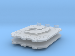 Bloodied Dragons Jericho tank doors in Smooth Fine Detail Plastic