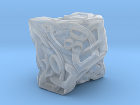 Celtic Percentile D10 - Solid Centre for Plastic in Smooth Fine Detail Plastic