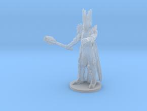 Sauron LOTR monster Infantry 6mm fantasy miniature in Smooth Fine Detail Plastic