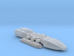 Artemis battlestar in Smooth Fine Detail Plastic