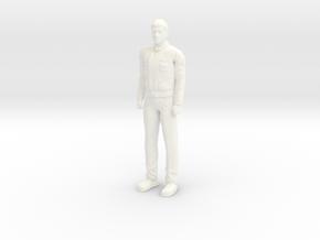 Battlestar Galactica - Apollo - 2004 in White Processed Versatile Plastic