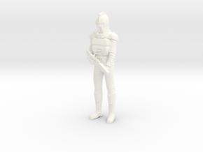 Battlestar Galactica - Cyclon in White Processed Versatile Plastic