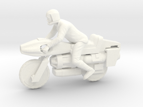 Battlestar Galactica - Motorcycle in White Processed Versatile Plastic
