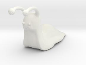 Giant Slug miniature model fantasy games rpg dnd in White Natural Versatile Plastic