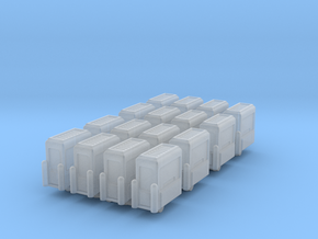 Toll Booth (x16) 1/500 in Smooth Fine Detail Plastic