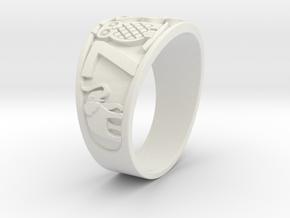 Ring_Of_Luck_2_stl in White Natural Versatile Plastic