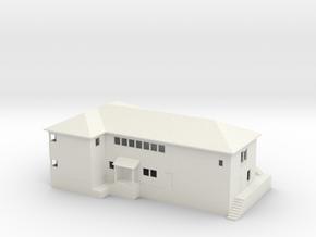 Keddie Yard Office N scale in White Natural Versatile Plastic