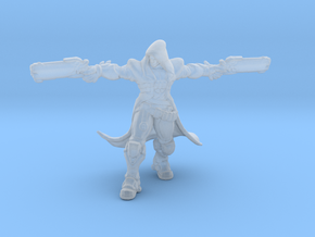 OW Reaper Shooting miniature model rpg dnd fantasy in Smooth Fine Detail Plastic