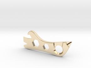 Multi-tool V1.2 in 14K Yellow Gold