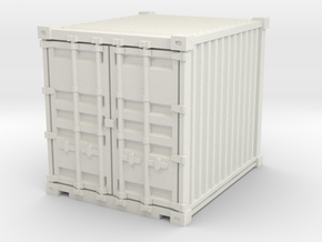 10ft Shipping Container 1/43 in White Natural Versatile Plastic