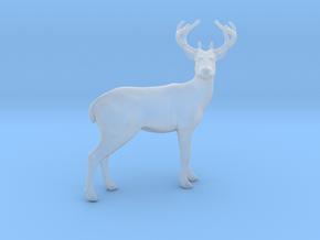 Deer miniature model fantasy games rpg dnd wild in Smooth Fine Detail Plastic