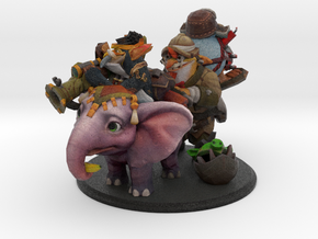 Techies for SirActionSlacks in Natural Full Color Sandstone