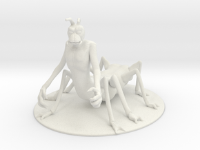 Vrusk Miniature in White Natural Versatile Plastic: 1:55