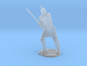Knight Miniature in Smoothest Fine Detail Plastic: 28mm
