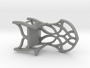 Elven Chair for 1:24 scale settings in Gray PA12