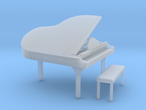 O Scale Grand Piano in Smooth Fine Detail Plastic