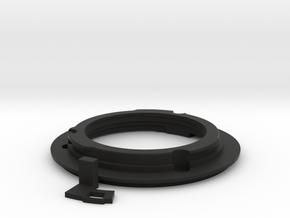 Union Mount with 50mm f1.2 Aperture Arm in Black Natural Versatile Plastic