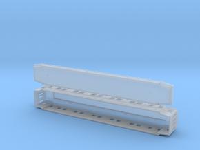 Ao2 - Swedish passenger wagon in Smooth Fine Detail Plastic