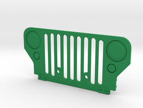 Simensays Wild Willy Grille in Green Processed Versatile Plastic