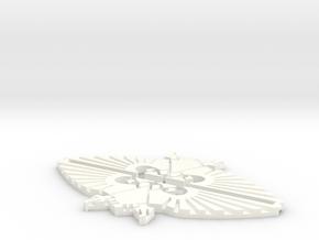 Eagle 60mm (2 pcs) in White Processed Versatile Plastic