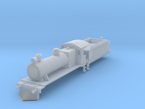 b-160fs-ceylon-b1-loco-plus-tender in Smooth Fine Detail Plastic