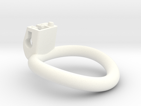 Cherry Keeper Ring G2 - 41mm +4° in White Processed Versatile Plastic