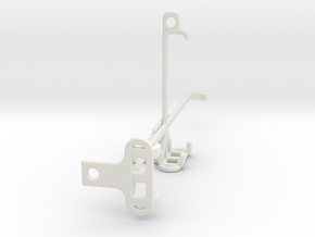 Asus ROG Phone 5 Pro tripod & stabilizer mount in White Natural Versatile Plastic