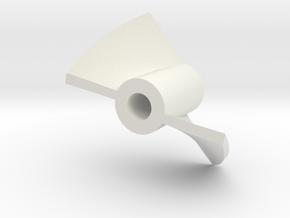 Epoxy stirrer. Epoxy Mixing Paddle and silicone in White Natural Versatile Plastic