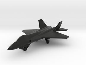 Shenyang J-31 in Black Natural Versatile Plastic: 1:288