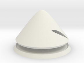 Martlet 1:4 scale spinner in White Natural Versatile Plastic