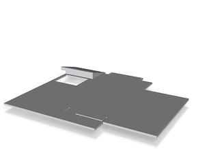 first floor slab_50 in White Natural Versatile Plastic